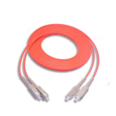 3M SC//UPC-SC//UPC Single Mode SM Duplex Fiber Optic Patch Cord Jumper Cable