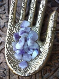 Chevron-Amethyst-Tumbled-Stones-Crystal-Minerals-Banded-Healing