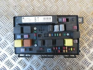 Details about Vauxhall Astra H Zafira B Fuse box Relay BT 2005 -2010 on