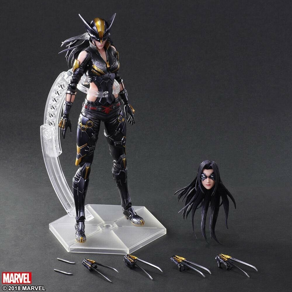 New Marvel Universe X-23 Variant Play Arts Square-Enix Action Figure