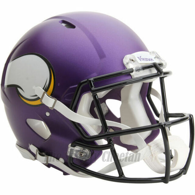 97ceccfbeb3 MINNESOTA VIKINGS RIDDELL NFL FULL SIZE AUTHENTIC SPEED FOOTBALL HELMET