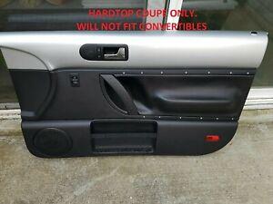 New OEM Door Trim Panel Card Towncar 00 01 02 Rear Grey