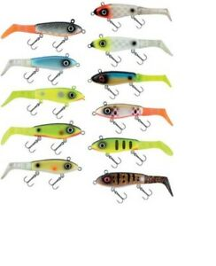 SOFT LURE Garcia McWalleye Svartzonker  2pcs in pack VARIETY COLURS AND SIZES