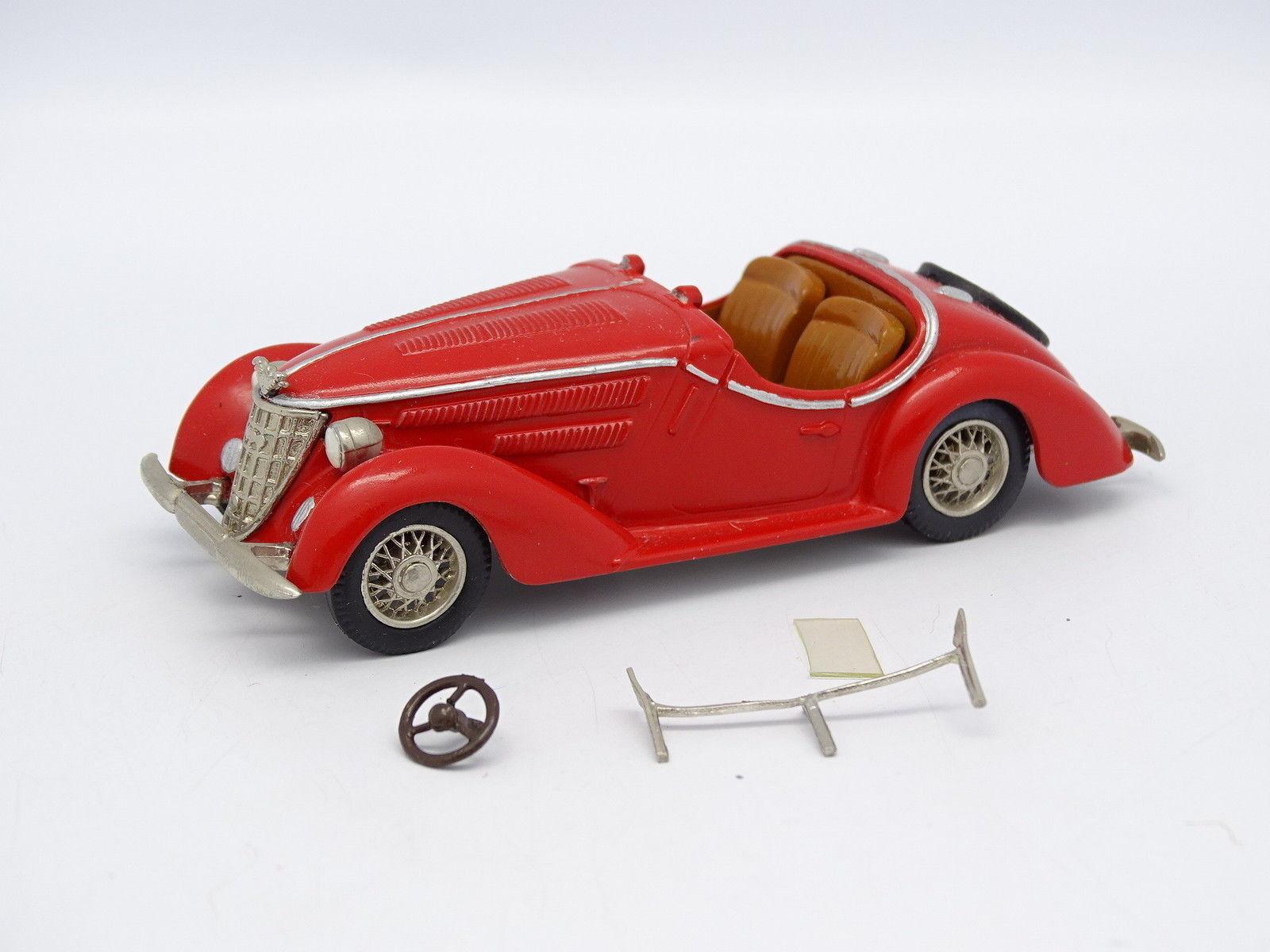 Western Models 1 43 - Wanderer W25K Roadster 1936 Rouge