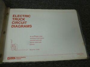 clark ecls20 eut100 hpw40 hwp60 p30 forklift electrical. Black Bedroom Furniture Sets. Home Design Ideas