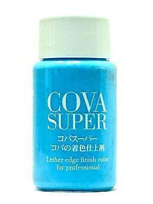 Seiwa Leathercraft Enamel, Powder Sky Blue Leather Edge Dye Dressing Lacquer