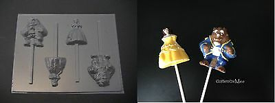 BEAUTY and the BEAST Chocolate Candy Soap Mold