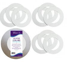 10 Paper Rings Heater Pot Collars Collar cut to fit most wax pots Waxing Salon