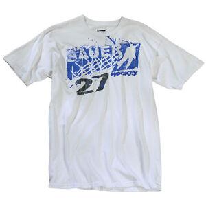 Bauer Net Graffiti Senior Short Sleeve Hockey Shirt  White  M-XXL MSRP $24.99
