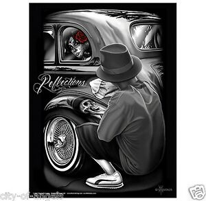 DGA-Reflections-David-Gonzales-Lowrider-Chicano-Artwork-Homies-Poster-18-x-24