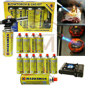 8 x BUTANE GAS BOTTLES CANISTERS FOR PORTABLE STOVES COOKERS GRILL HEATERS WEED