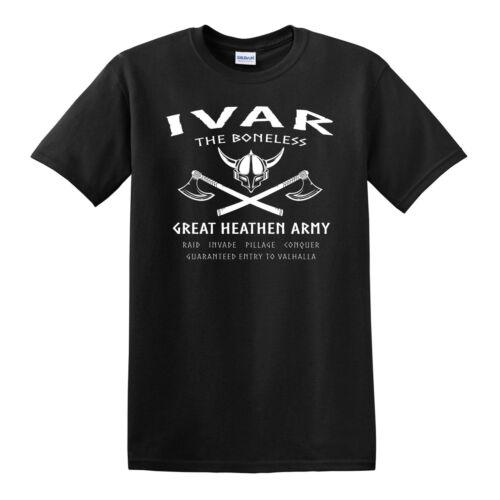 Norse Odin Viking Ragnar Thor Valhalla Ivar The Boneless T-SHIRT