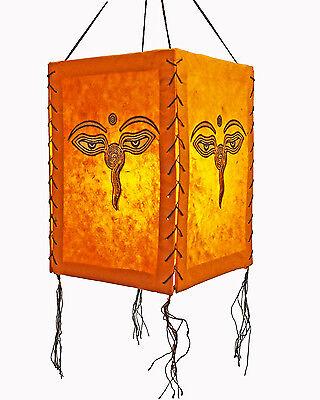 Lampenschirm Buddha Eye, LOKTA Papier, Papierleuchte Papierlampe Hängelampe