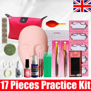 lash starter kit eyelash extension makeup practice set
