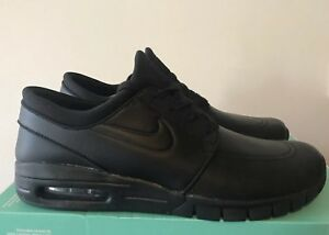Nike SB Stefan Janoski Max L Skateboard Shoes Black UK 9.5 US 10.5 ... 9d1c7dabba