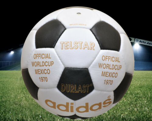 Adidas Official Match-Ball of FIFA World Cup 1970 Leather Football Size 5.