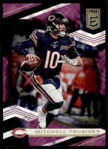 2020-Elite-Purple-63-Mitchell-Trubisky-99-Chicago-Bears