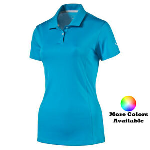 Puma-Golf-Women-039-s-Pounce-Cresting-Polo-Shirt-Pick-Size-amp-Color