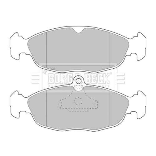 BBP1424 Rear Brake Pads Genuine Borg /& Beck Front