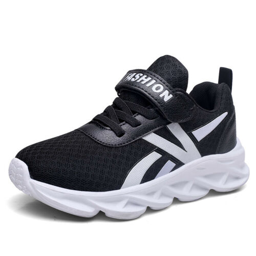 Kids Boys Girls Sneakers Trainers Running Sports Shoes Children School Gym Shoe