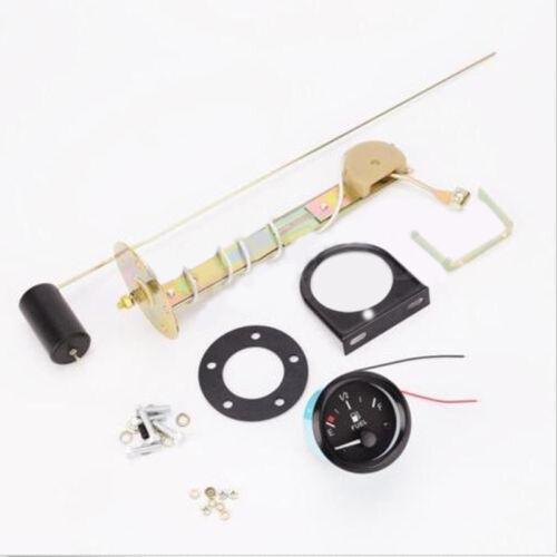 "2/"" 52mm Universal Motor Car Truck Boat Fuel Level Gauge Meter Sensor Kit"