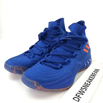 Escrupuloso Paternal Desarmamiento  Adidas Crazy Explosive 2017 PK Men's 15 Kristaps Porzingis Shoes ...