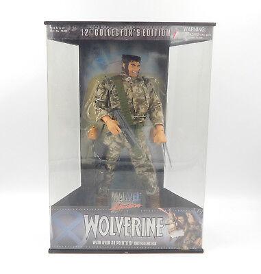 """Ausdrucksvoll Toy Biz Marvel Studios Wolverine 12"""" Collector`s Edition 73400 Action Figure Um Eine Reibungslose üBertragung Zu GewäHrleisten Comicfiguren"""