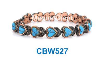 Women Copper link high power magnetic bracelet CBW565