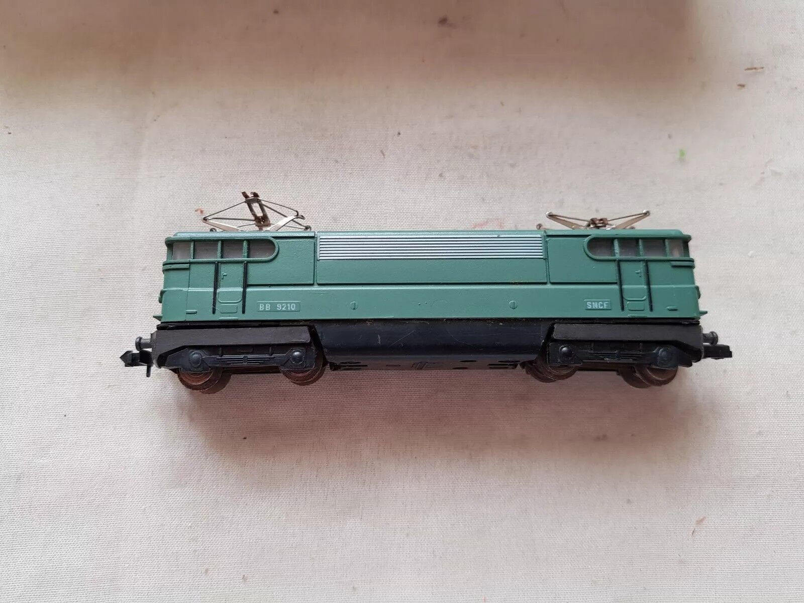 A model railway Sncf Locomotive In N Gauge By Piko Boxed Fully Working