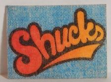 "VINTAGE 1970 IRON-ON MINI IRON-ONICS ""SHUCKS"" CRACKER JACK PRIZE TOY"