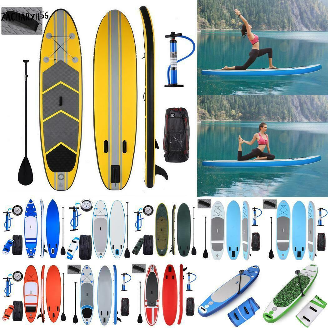 SUP Board Standup Paddle Paddling PVC EVA Surfboard Schlagfestigkeit Vielauswahl
