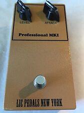LIC Pedals MKI Tonebender Replica w/OC75 & OC72 's added output. Ronson Tone