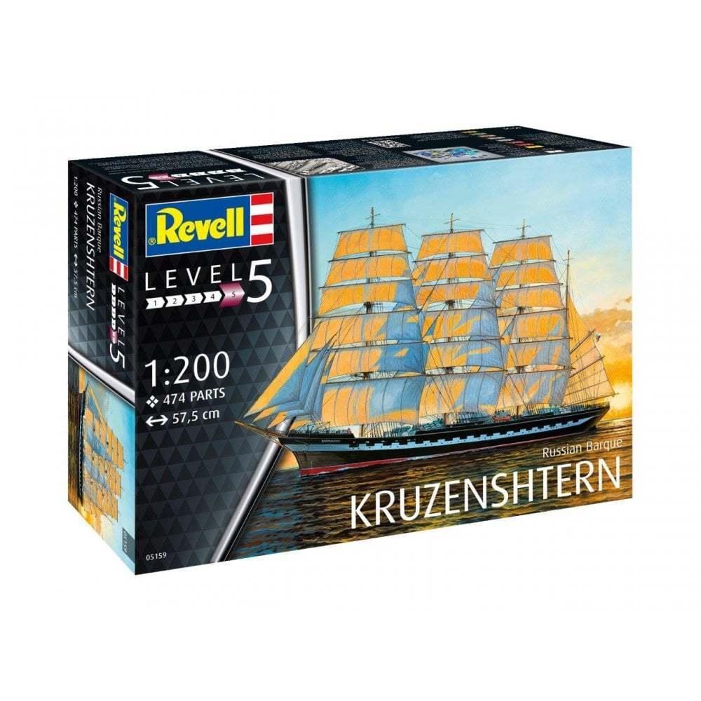 Revell 05159 1 200 Russian Barque ' Kruzenshtern ' Model Ship Kit
