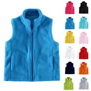 Kid-Boys-Girls-Vest-Winter-Warm-Gilet-Padded-Baby-Solid-Jacket-Sleeveless-Coat