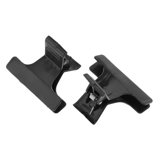 12 Butterfly Plastic Hair Styling Claw Hairdressing Section Clip Clamp Grip