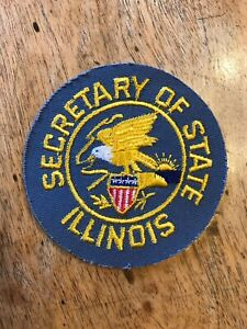 ILLINOIS STATE FLAG embroidered iron-on PATCH EMBLEM IL applique emblem CHICAGO