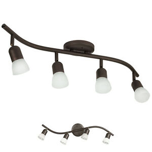 4-Light-Track-Lighting-Ceiling-Wall-Interior-Lamp-Fixture-Oil-Rubbed-Bronze