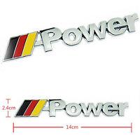 BMW M Power Logo Schriftzug Emblem 1 3 4 5 6 7 E M X Z Aufkleber M3 M5 M6 M7 M4