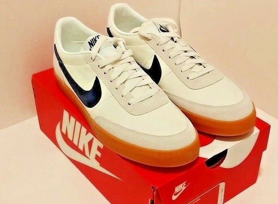 Nike Killshot 2 Leather Size 12 Sail Midnight Navy Gum White bluee 432997-107