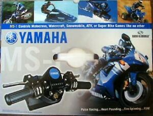 NEW-YAMAHA-MS-1-MOTOR-SPORTS-CONTROLLER-FOR-XBOX-ORIGNAL-GAMECUBE-OR-PsONE-PS2