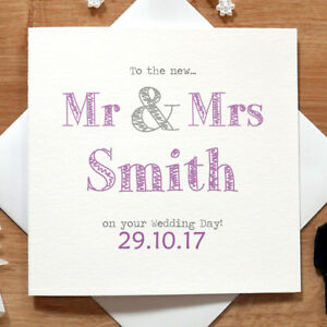 Personalised-Handmade-Mr-amp-Mrs-Wedding-Day-Card-For-Them-Congratulations