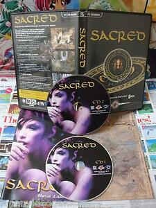 PC-CD-Rom-Sacred-TOP-RPG-amp-1ERE-EDITION-COMPLET-Fr