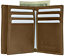 Brown-Men-039-s-Genuine-Leather-ID-Bifold-18-Card-Holder-Center-Flap-Wallet thumbnail 8