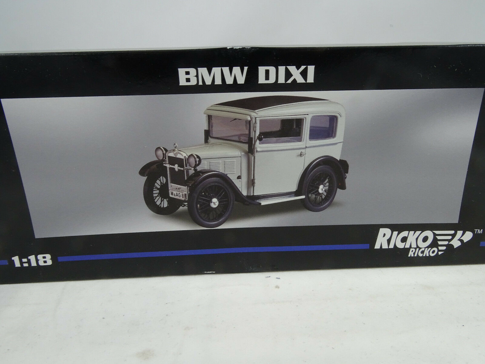 1:18 Ricko #32138 #32138 #32138 BMW Dixi Blancheur - Rare § aa1b99