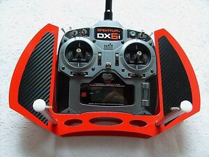Exclusives-SENDERPULT-RED-Edition-Spektrum-DX6i-DX7s-DX8-9-aus-Alu-Bond-TOP