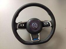 OEM VW R-LINE ACC Multifunction Leather Steering Wheel Mk7 GOLF PASSAT