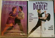 "Ballroom Dancing DVD""s Lot of 2"