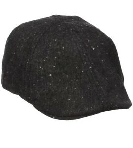 63224a89e1d Image is loading Dockers-Mens-Donegal-Dome-Top-Ivy-Hat-Black-
