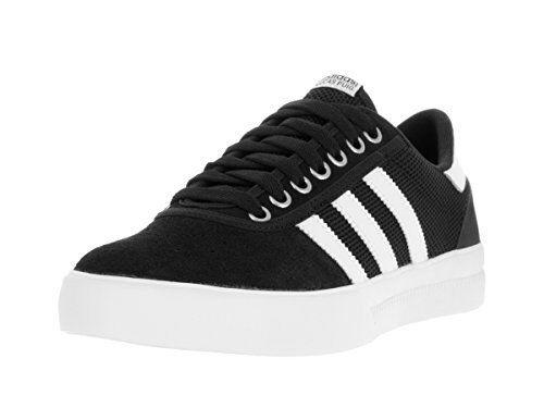 Adidas Mens Lucas Premiere ADV nero bianca bianca scarpe- Pick SZ Coloreeee.