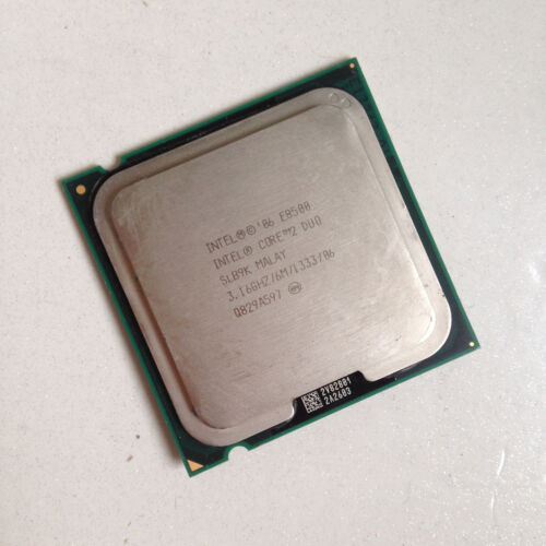 1 of 1 - Intel Core 2 Duo E8500  3.16 GHz 6MB 1333MHz Dual-Core 775 Socket T PC Processor